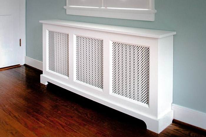 Wooden Radiator Covers with Metal Screens in Staten Island NY