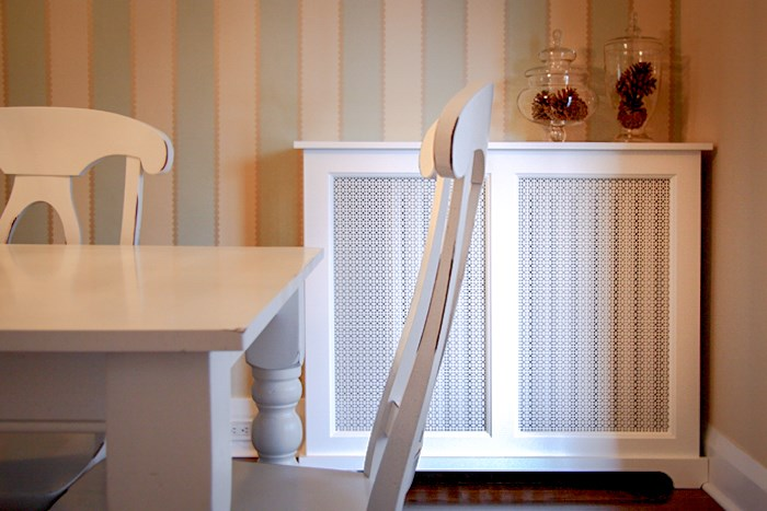 Custom Radiator Covers photographed in New York NY