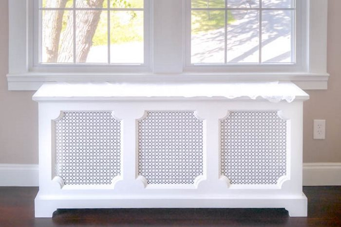 Radiator Covers photographed in Pittsburgh PA