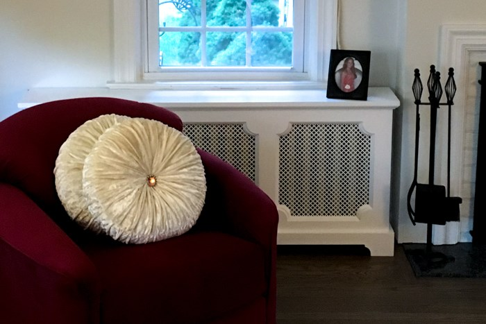 Radiator Covers shown in a home in Washington DC