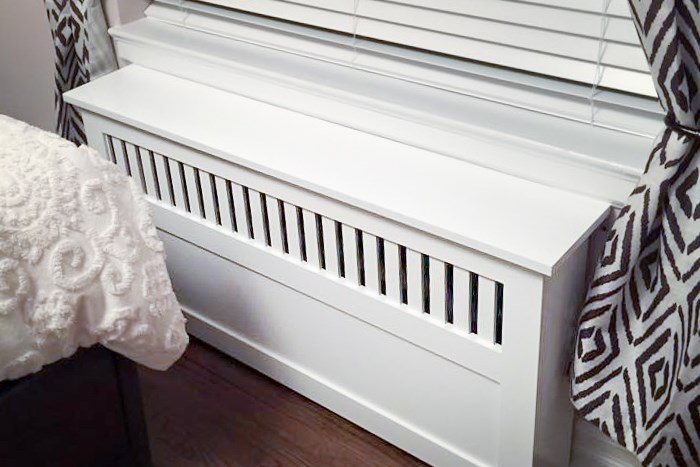 Radiator Covers seen in Washington DC