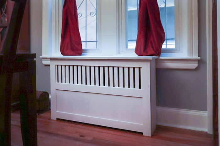 White Radiator Covers photographed in Philadelphia PA