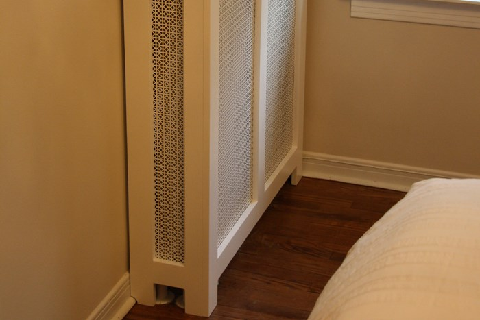 New Radiator Covers seen in New York NY