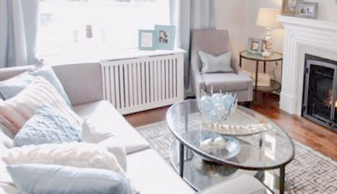 Fichman Furniture Radiator Covers on the show Property Brothers