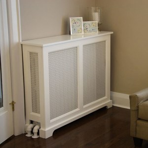Shaker Style Radiator Cover as seen in Brooklyn, New York