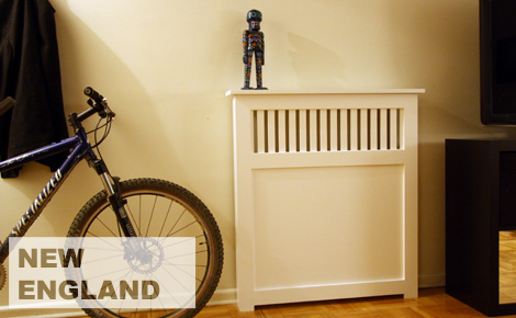 New England Style Radiator Cover
